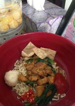 Mie Ayam 'abang-abang' homemade