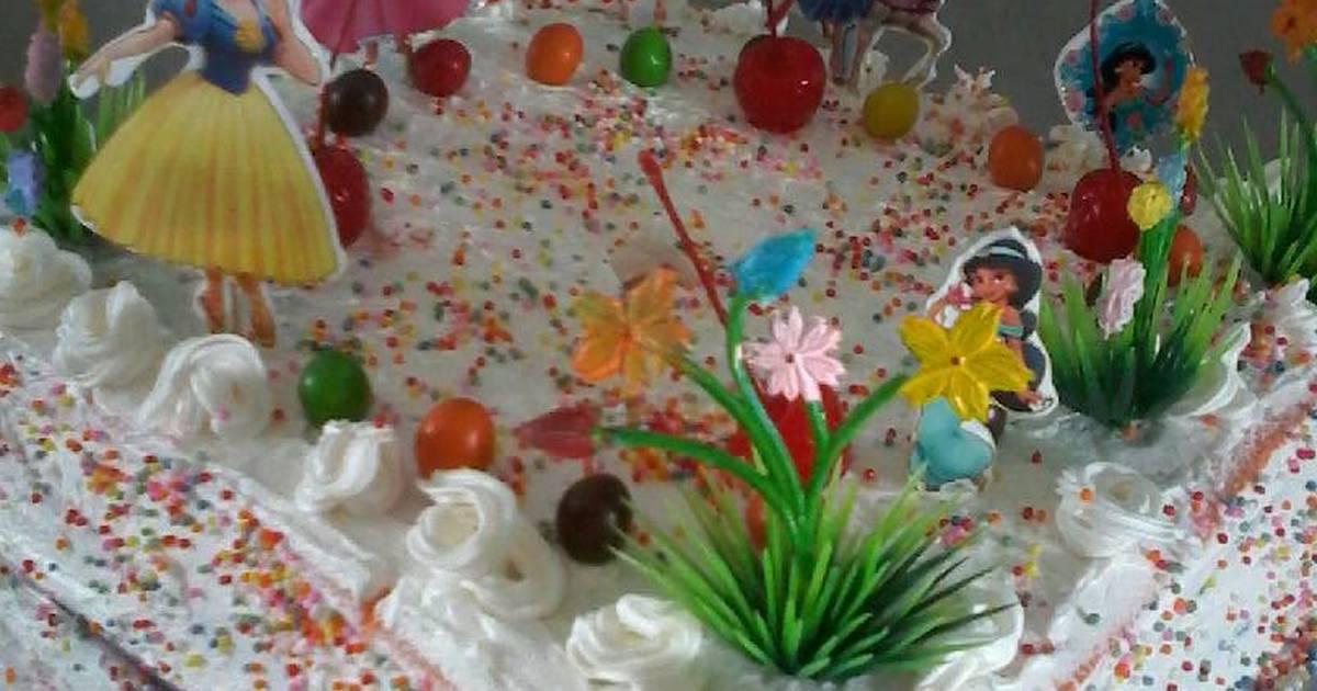 Resep rainbow cake kukus ala fuji