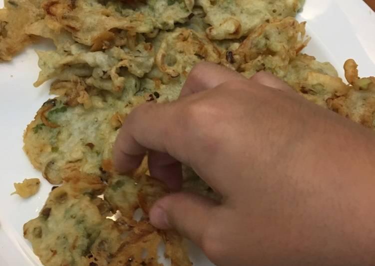 Resep Rempeyek Ikan Teri Nasi Kiriman dari Mrs Sylviano