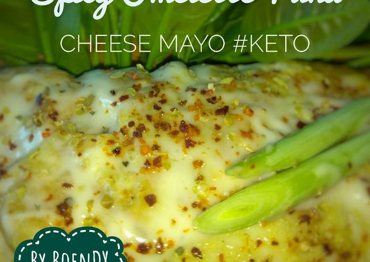 Spicy Omelette Tuna Cheese Mayo #ketopad_cp_cheese