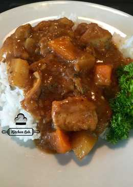 Japanese chicken curry (not instant)