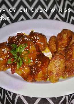 Honey Spicy Chicken Wings ala ArKitchen
