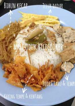 Nasi Uduk Rice Cooker (Anti Gagal)