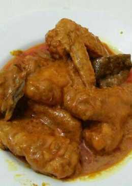 Gulai ayam gampil(mudah)