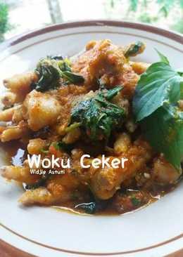 Woku Ceker #BeraniBaking