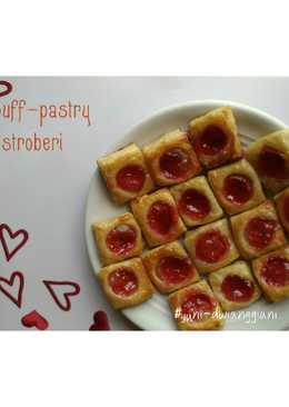 Puff pastry stroberi
