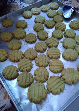 Green Tea Cookies