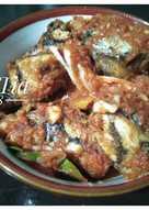 Ikan tongkol masak ala sarden