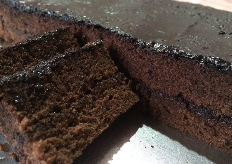 Resep Brownies Kukus Lapis Coklat aLa NCC - Kurnia Fitriyanti