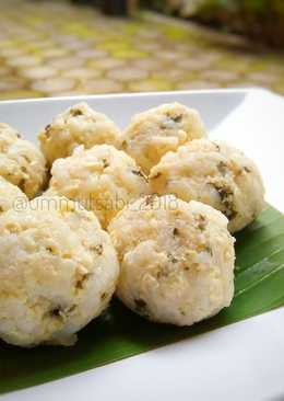 Steamed Rice Chicken (mpasi for baby)