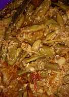 Kacang panjang / kotopes bumbu kare pedoo. 😘😋😘😋(blh d mix)