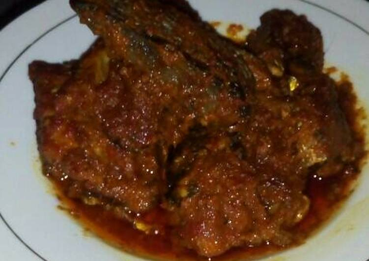 bumbu bali yang dibuat oleh niyan bisa menjadi  Resep Ikan pe asap (ikan panggangan) bumbu bali By niyan