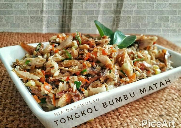 gambar untuk resep Tongkol bumbu Matah