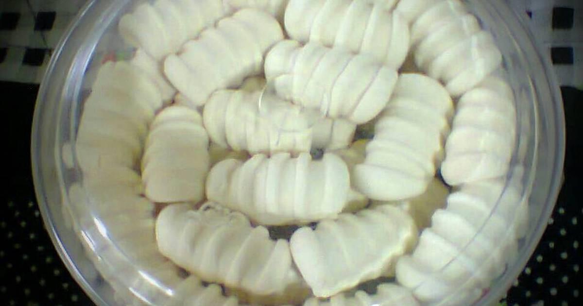 Resep Sagu Santan Cookies