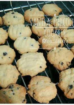 Vanila-chocochip cookies (super simpel)