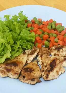 Salad Bayam & Delima