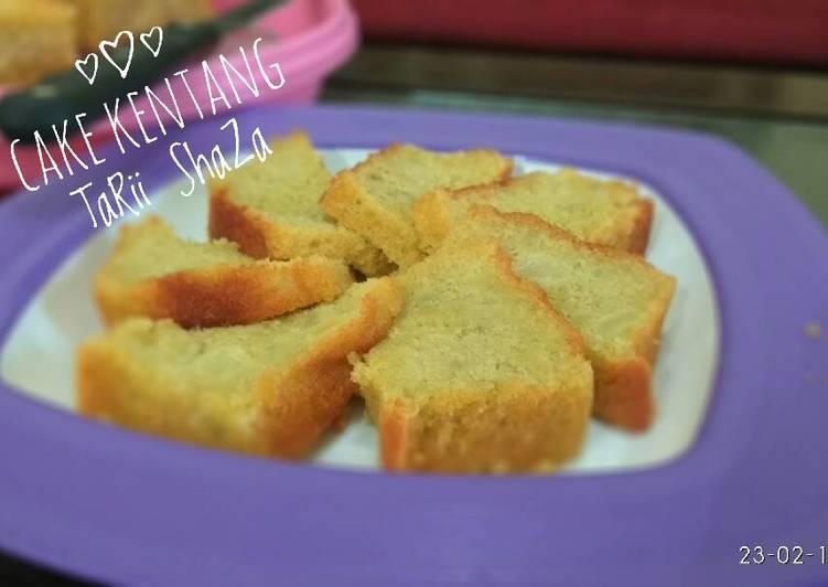Resep Cake Kentang #PR_recookUmbi-Umbian Kiriman dari TaRi ShaZa