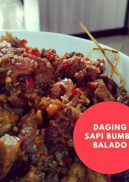 Daging Sapi bumbu Balado