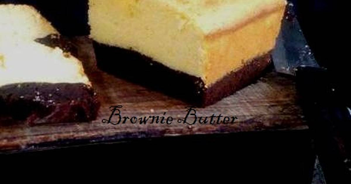 Resep Brownie Butter Cake