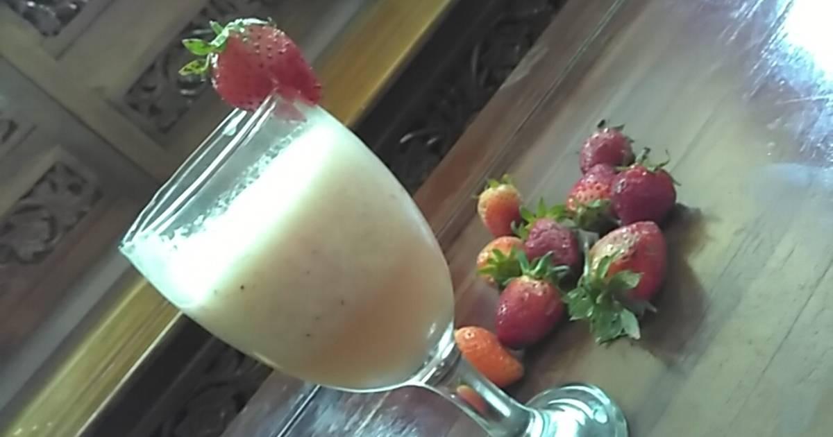 Resep Smoothie Strawberry