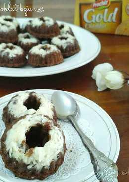 Putu ayu coklat keju resep by : @fridajoincoffe