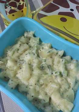 Bekal anak - Kentang brokoli keju