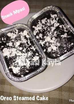 Oreo steamed brownies/cake