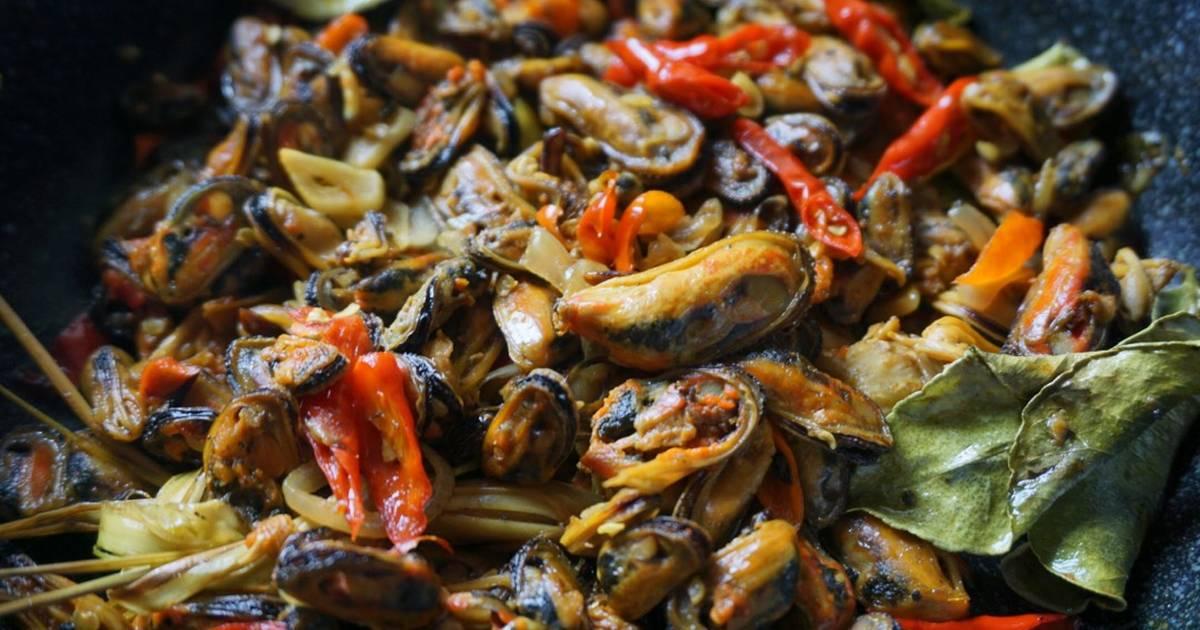 masak kerang hijau masak memasak Resepi Rendang Kerang Jawa Enak dan Mudah