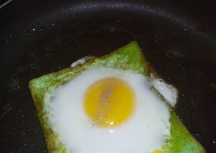 Resep Ropanglortis (Roti Panggang Telor Praktis) Kiriman dari Yanti Lyediawati