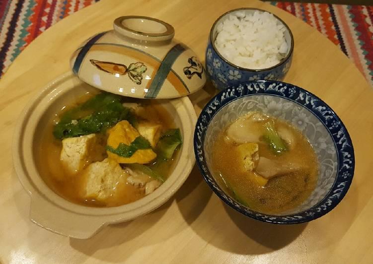 Sup miso ala hoka2bento#tantanganakhirtahun#masakditahunbaru