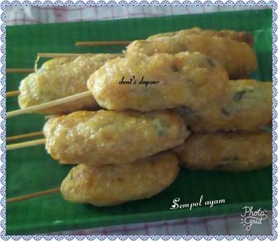 Sempol ayam khas Malang