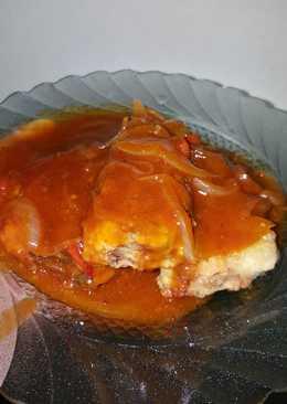 Mackerel crispy soursweet