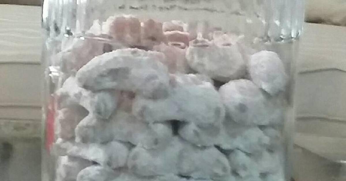 Kue putri salju super empuk 😋 - 3 resep - Cookpad
