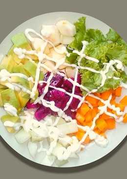 Mix Fruits-vegetable Salad