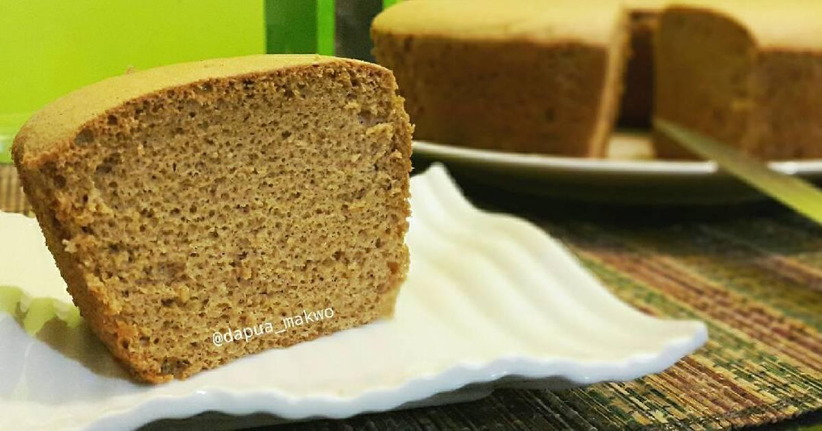 Resep Mocca Chiffon Cake
