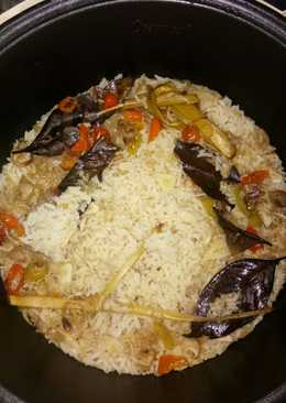 Nasi liwet teri medan rice cooker