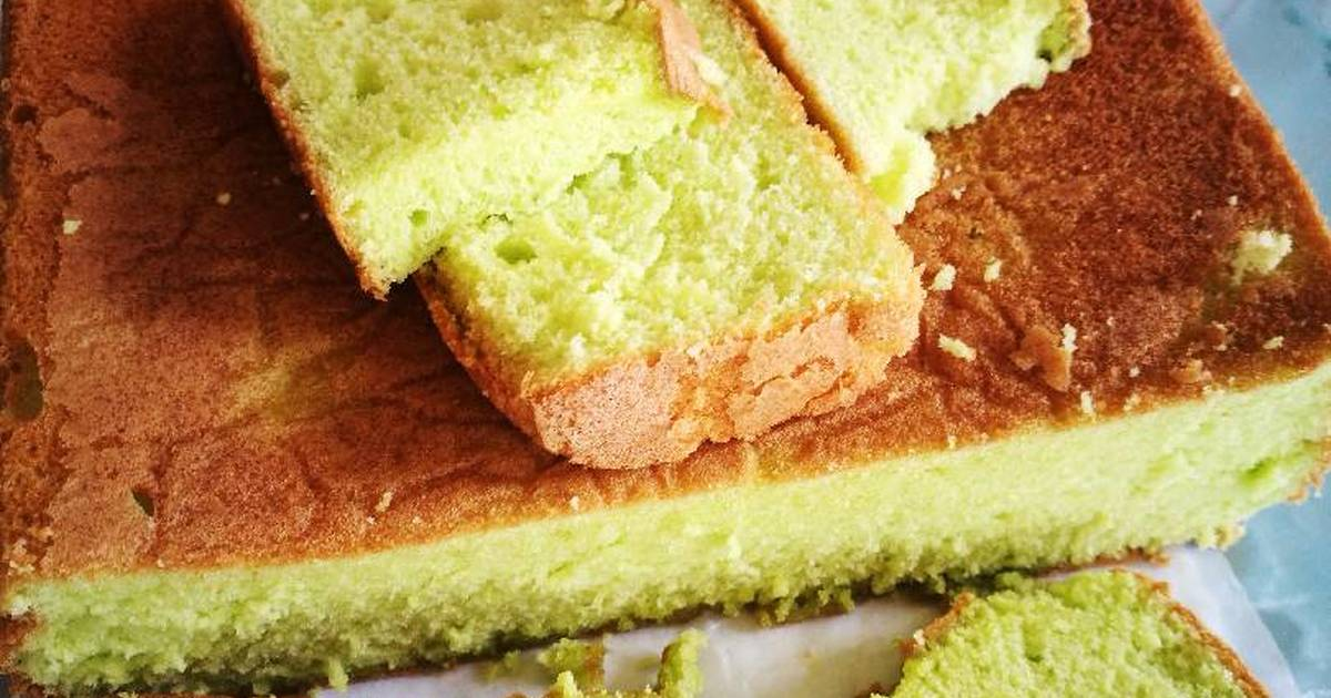 Resep Sponge Cake Jepang: Resep Sponge Cake Pandan Oleh Fitriany Bahri Massoed