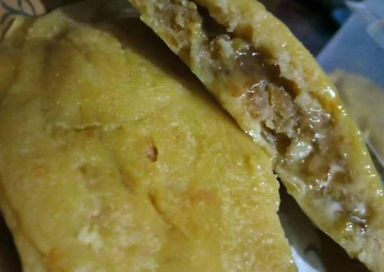 Resep Pancake pisang ubi [ff] Karya Firanissa