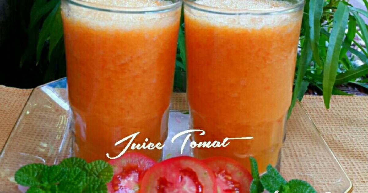 Resep Jus Tomat Mangga Jeruk