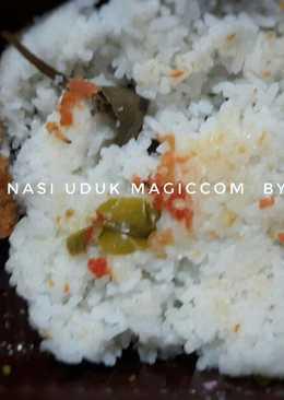 Nasi uduk magic com no ribet
