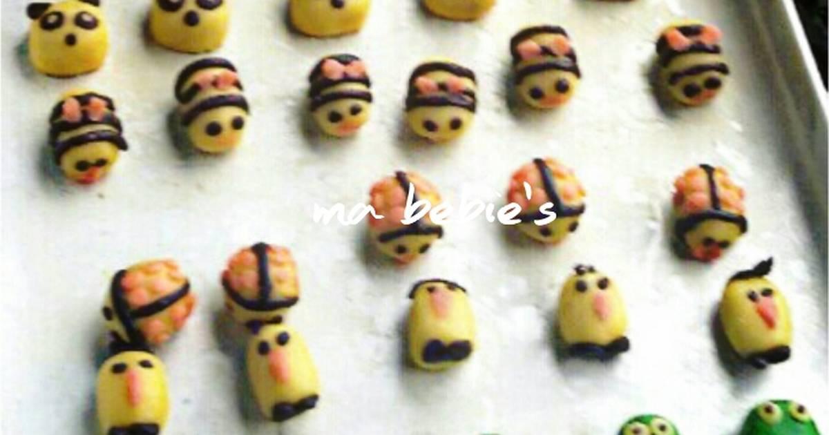 Resep Nastar karakter & cookies fancy 1 resep super duper lembuuut ngeprulll