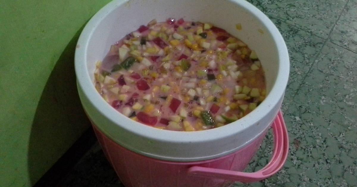 Resep Sup Buah Mangga Terendam