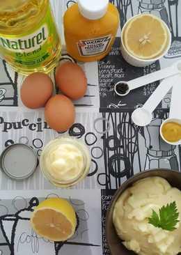 Homemade perfect mayonaisse