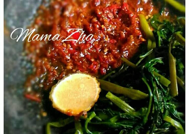 Resep Pelecing Kangkung Kiriman dari Mama Zha