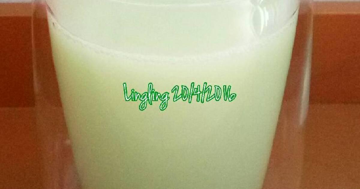 Resep Edamame Soy Milk