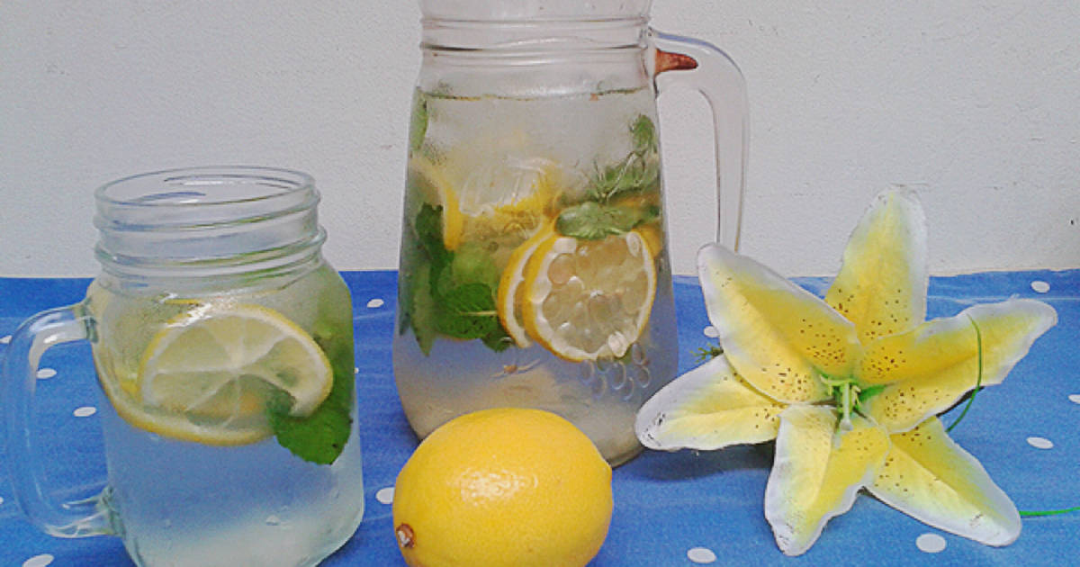 Resep Lemon Infused Water