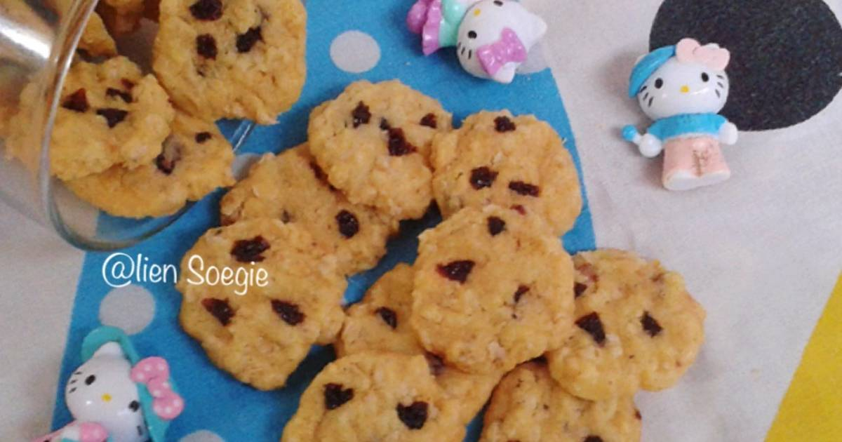Resep Mini Havermout Cookies