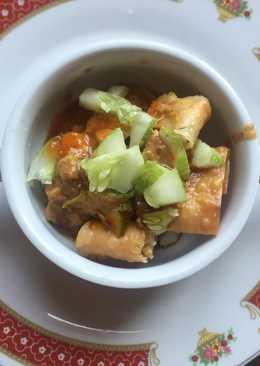 Batagor (baso tahu goreng)