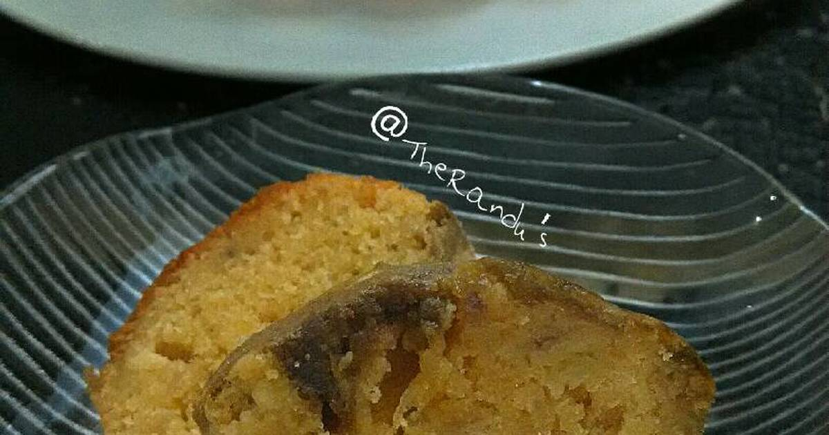 Resep Banana Marble Cake