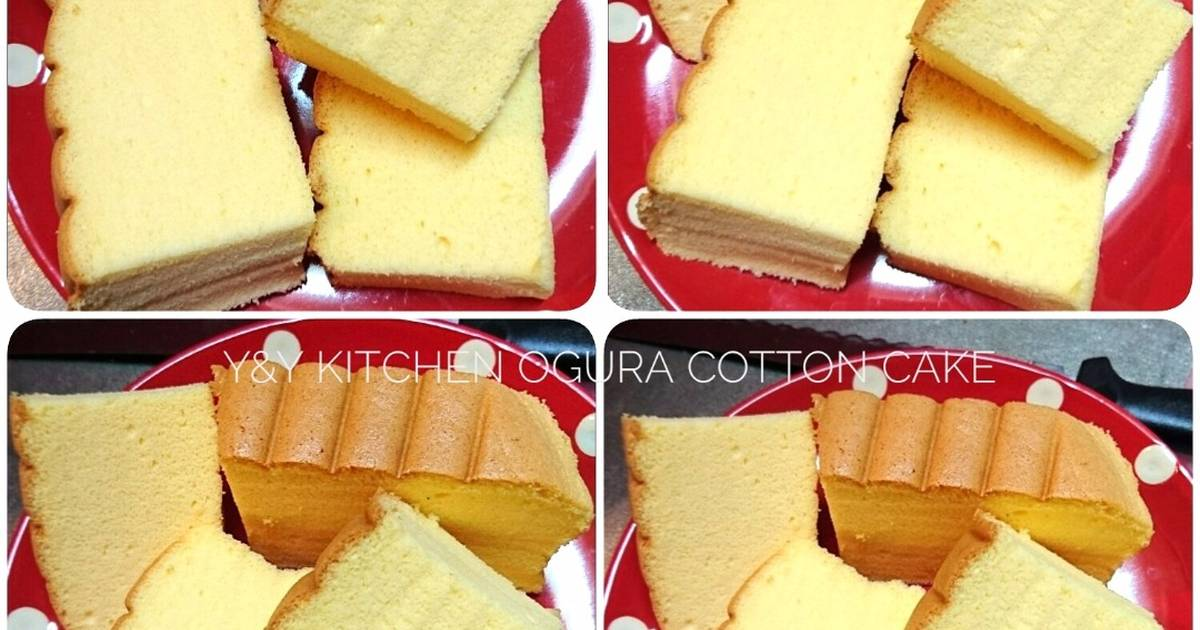 Resep Cake Ketofastosis: Resep Ogura Cotton Cake (OCC Plain) Oleh YNy